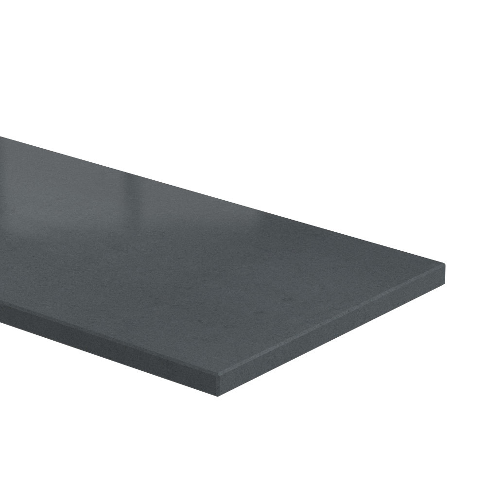 Blad 20 mm dik Absolute Black (gezoet)