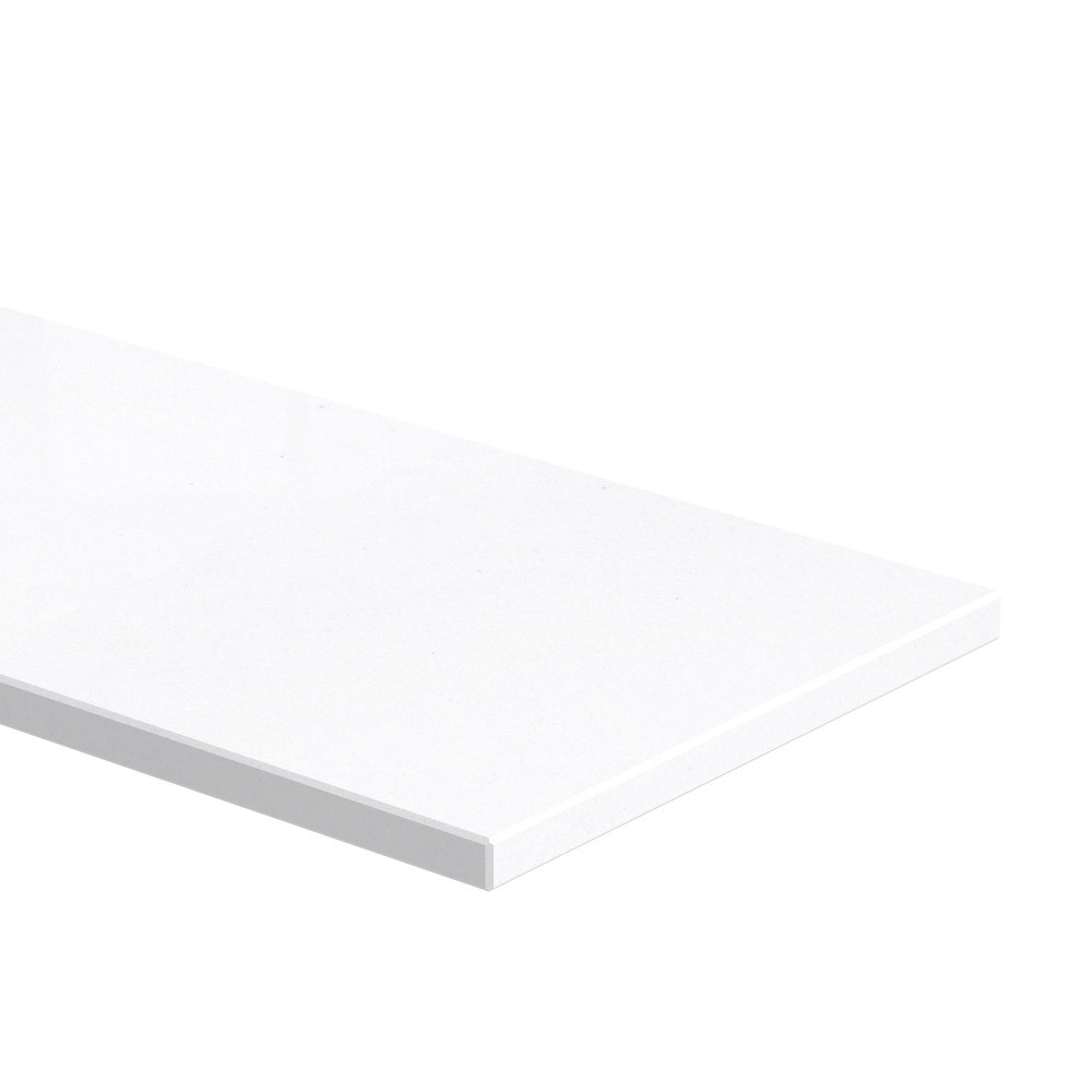 Blad 20 mm dik Pure White AU250 KC (velvet)