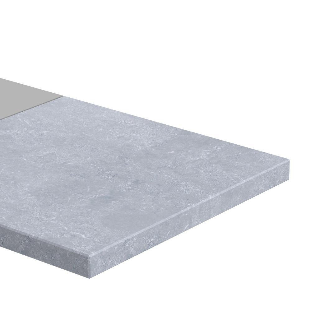 Muurafdekker Eindstuk vlak Frater 30 mm dik Chinees Hardsteen (geschuurd)