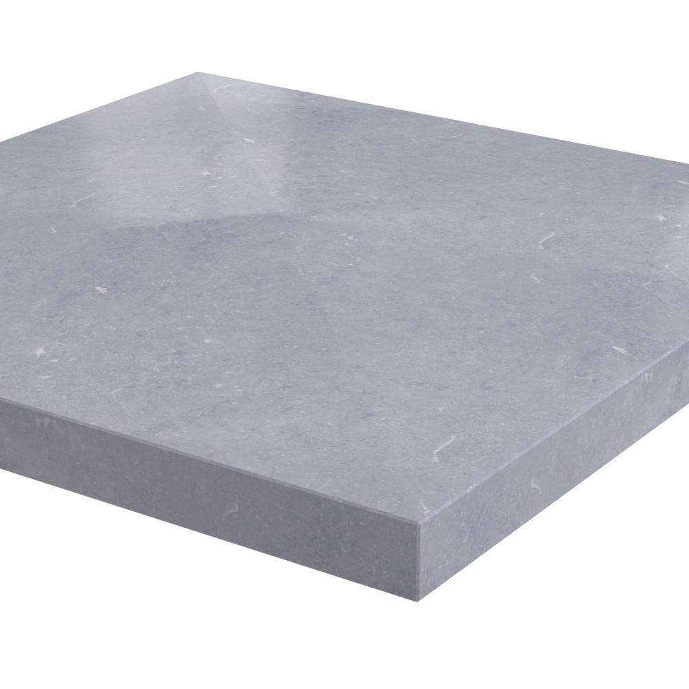 Pilaarpet 4-zijdig aflopend Ibis 950 x 950 x 100 mm Belgisch hardsteen (geschuurd)