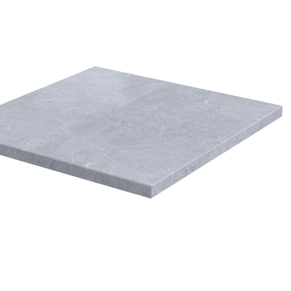 """Pilaarpet vlak """"Lepelaar"""" 30 mm dik Chinees Hardsteen (geschuurd)"""