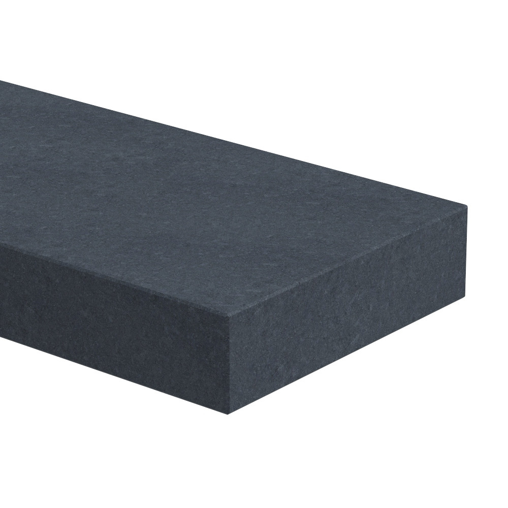 Traptrede 80 mm dik Nero Assoluto (gezoet)