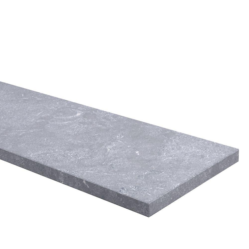 Traptrede 30 mm dik Chinees Hardsteen (geschuurd)