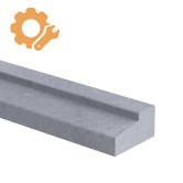 Deurdorpel profiel op maat 60 mm dik Belgisch hardsteen (geschuurd)