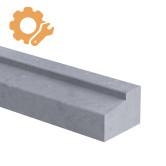 Deurdorpel profiel op maat 80 mm dik Belgisch hardsteen (geschuurd)