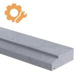 Spekband profiel op maat 50 mm dik Belgisch hardsteen (geschuurd)